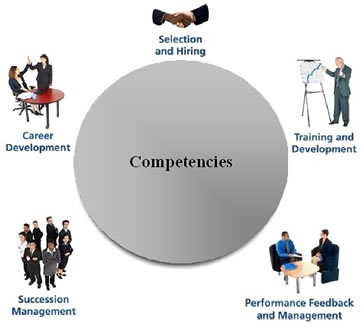 management and competencies Covers both leadership and management functions leadership functions relate to the broad plan of helping an organization clarify and affirm values, set goals core competencies: relevant information for selecting annual professional.